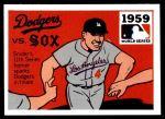 1971 Fleer World Series #57   -  Duke Snider 1959 Dodgers / White Sox Front Thumbnail