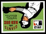 1971 Fleer World Series #10   1912 Red Sox / Giants Front Thumbnail