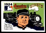 1971 Fleer World Series #22   1924 Senators / Giants  Front Thumbnail