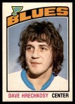 1976 O-Pee-Chee NHL #364  Dave Hrechkosy  Front Thumbnail