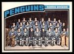 1976 O-Pee-Chee NHL #145   Penguins Team Front Thumbnail