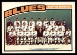 1976 O-Pee-Chee NHL #146   Blues Team Front Thumbnail