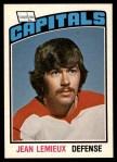 1976 O-Pee-Chee NHL #272  Jean Lemieux  Front Thumbnail