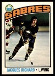 1976 O-Pee-Chee NHL #8  Jacques Richard  Front Thumbnail