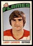 1976 O-Pee-Chee NHL #297  Larry Carriere  Front Thumbnail