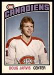 1976 O-Pee-Chee NHL #313  Doug Jarvis  Front Thumbnail