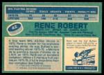 1976 O-Pee-Chee NHL #42  Rene Robert  Back Thumbnail
