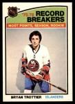 1976 O-Pee-Chee NHL #67   -  Bryan Trottier Record Breaker Front Thumbnail