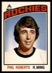 1976 O-Pee-Chee NHL #345  Phil Roberto  Front Thumbnail