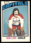 1976 O-Pee-Chee NHL #69  Ron Low  Front Thumbnail
