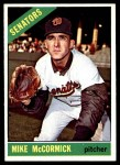 1966 Topps #118  Mike McCormick  Front Thumbnail