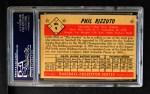 1953 Bowman #9  Phil Rizzuto  Back Thumbnail