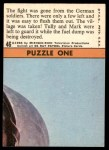 1966 Topps Rat Patrol #46   The Fight Was Gone from the German Soldiers Back Thumbnail
