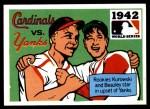 1971 Fleer World Series #40   1942 Cardinals / Yankees Front Thumbnail