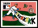 1971 Fleer World Series #27   1929 A's / Cubs Front Thumbnail
