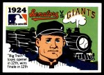 1971 Fleer World Series #22   1924 Senators / Giants  Front Thumbnail
