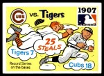 1971 Fleer World Series #5   1907 Cubs / Tigers Front Thumbnail