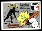 1971 Fleer World Series #23   -  Walter Johnson 1925 Pirates / Senators Front Thumbnail