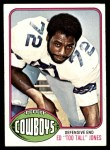 1976 Topps #427  Ed Too Tall Jones   Front Thumbnail