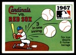 1971 Fleer World Series #65   1967 Cardinals / Red Sox   Front Thumbnail