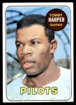 1969 Topps #42  Tommy Harper  Front Thumbnail