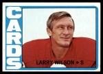 1972 Topps #205  Larry Wilson  Front Thumbnail