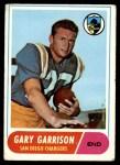 1968 Topps #36  Gary Garrison  Front Thumbnail