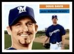 2005 Topps Heritage #359  Doug Davis  Front Thumbnail