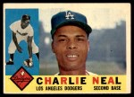1960 Topps #155  Charlie Neal  Front Thumbnail
