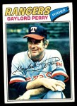 1977 Topps #152  Gaylord Perry  Front Thumbnail