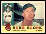 1960 Topps #360  Herb Score  Front Thumbnail