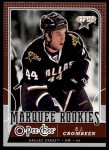 2008 O-Pee-Chee #540  B.J. Crombeen   Front Thumbnail