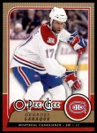 2008 O-Pee-Chee #643  Georges Laraque   Front Thumbnail