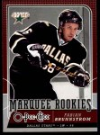 2008 O-Pee-Chee #761   -  Fabian Brunnstrom Marquee Rookies Front Thumbnail