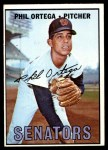 1967 Topps #493  Phil Ortega  Front Thumbnail