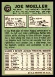 1967 Topps #149  Joe Moeller  Back Thumbnail