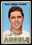 1967 Topps #34  Pete Cimino  Front Thumbnail