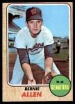 1968 Topps #548  Bernie Allen  Front Thumbnail