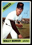 1966 Topps #499  Wally Bunker  Front Thumbnail