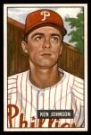 1951 Bowman #293  Ken Johnson  Front Thumbnail