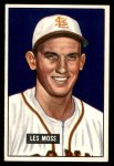 1951 Bowman #210  Les Moss  Front Thumbnail