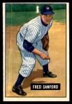 1951 Bowman #145  Fred Sanford  Front Thumbnail