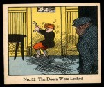 1931 Johnson Candy Dick Tracy R41 #32   The Doors Were Locked Front Thumbnail