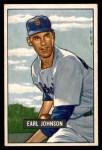 1951 Bowman #321  Earl Johnson  Front Thumbnail