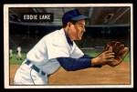 1951 Bowman #140  Eddie Lake  Front Thumbnail