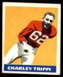 1948 Leaf #29  Charley Trippi  Front Thumbnail