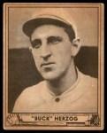 1940 Play Ball #229  Buck Herzog  Front Thumbnail