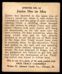 1931 Johnson Candy Dick Tracy R41 #42   Still Hanging On Back Thumbnail