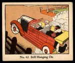 1931 Johnson Candy Dick Tracy R41 #42   Still Hanging On Front Thumbnail