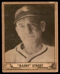 1940 Play Ball #169  Gabby Street  Front Thumbnail